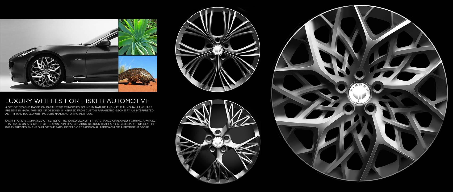 Max Enko Fisker Wheel Design